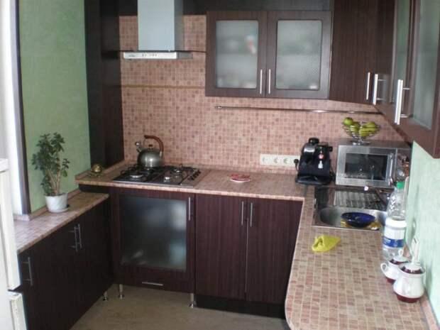 Ремонт на маленькой кухне
