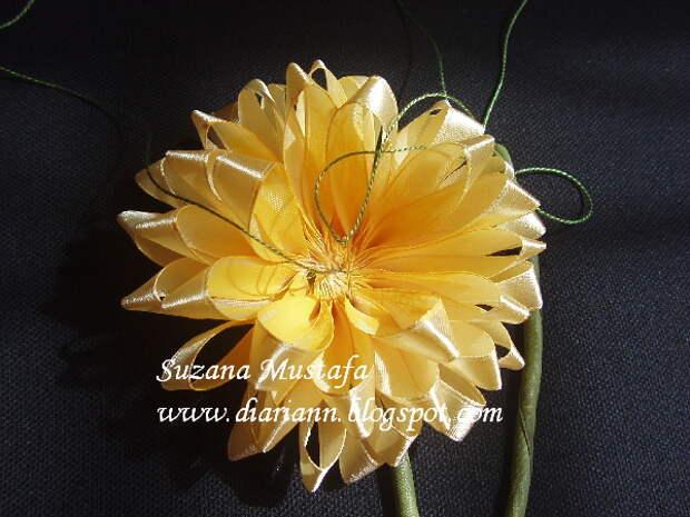 вышивка летнами. хризантемы (6) (600x450, 183Kb)