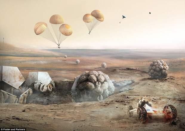 Марсианское поселение