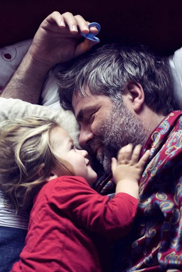 Папина любовь — она такая теплая