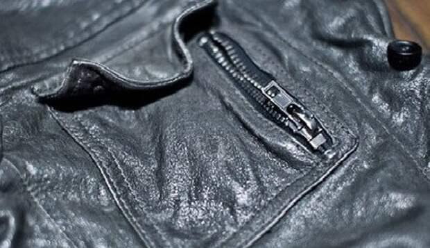 Как разгладить кожаную куртку?