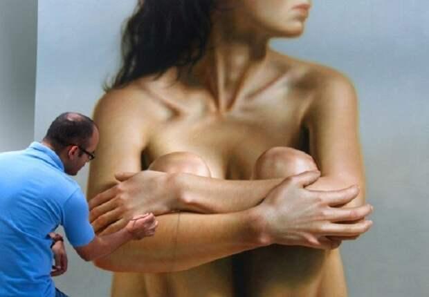 Если ты думаешь, что это фотография полуобнаженной девушки, ты глубоко заблуждаешься...