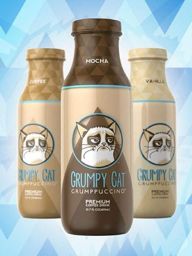Grumpy Cat стал маркой кофе