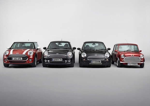 18. Mini Cooper авто, история