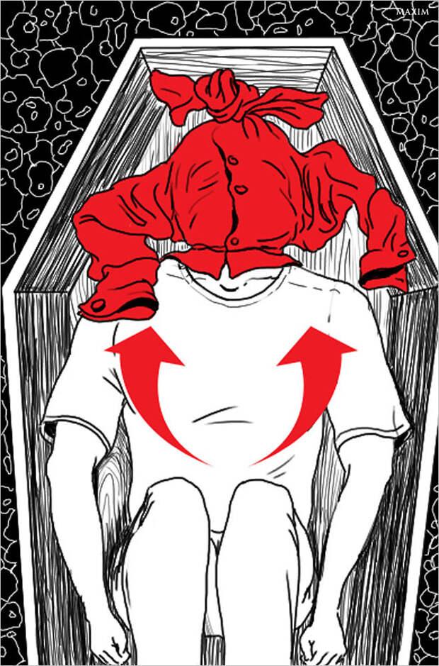 Кошмар 09 Гроб выживание, навыки, ошибки, советы