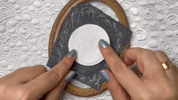 Объемная вышивка с секретом: уникальная техника для быстрого создания акцентных деталей