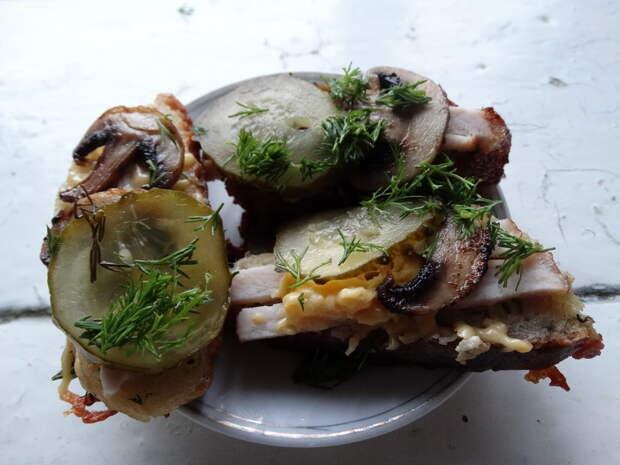 бутерброды могут быть праздничным блюдом