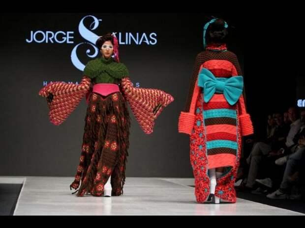 вязаное кимоно