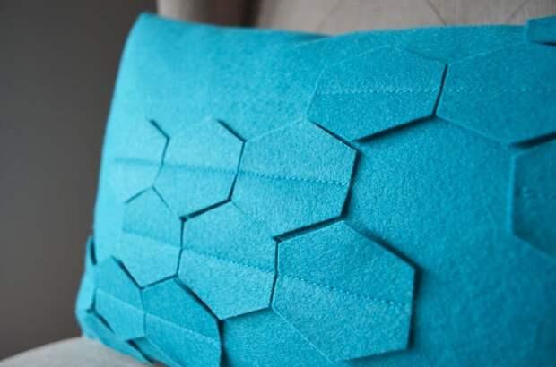 Гениальная подушка из фетра