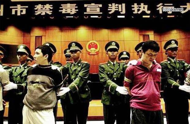 Смертная казнь в Китае
