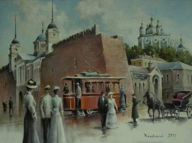 художник Владимир Краевский картины – 77