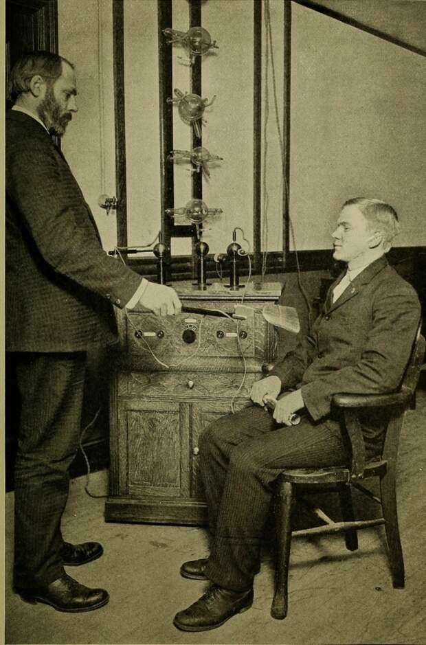 Электрический ток в медицине прошлого