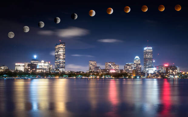 20 великолепных фотографий Бостона