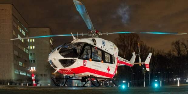 Санитарные вертолеты МАЦ за два года помогли спасти 184 человека