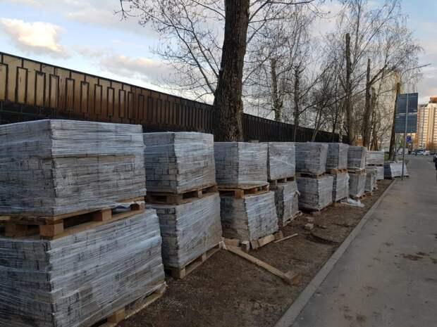 Фотокадр: работы по благоустройству лесопарка «Северный» идут полным ходом