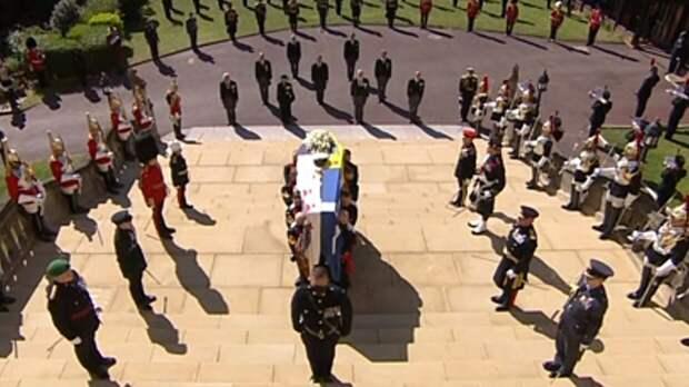 Церемония прощания с принцем Филиппом прошла в Виндзорском замке
