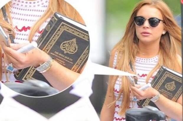 Линдси Лохан призналась о намерении принять ислам