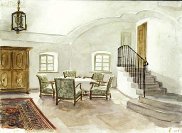 Акварели и рисунки Адольфа Гитлера