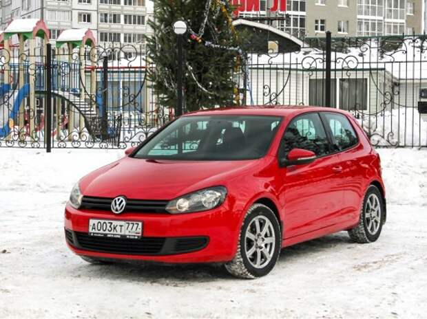 VW Golf из парка ЗР: экономим на малом