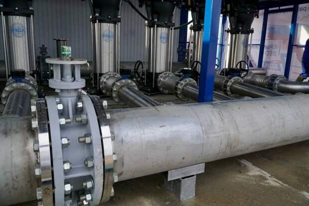 18 марта в 10:00 состоится запуск водовода на Симферополь