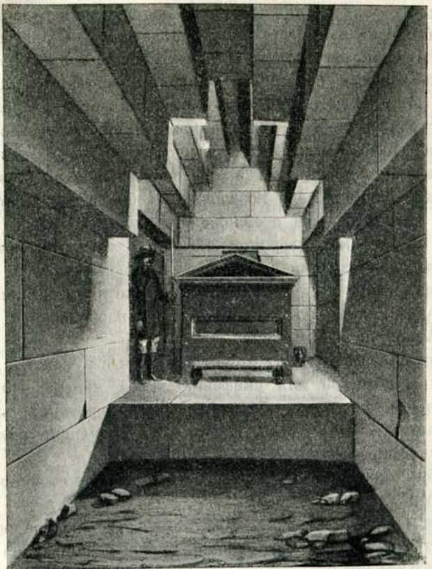 Склон с уступчатым покрытием и кургане на горе Юз-оба. IV в. до н. э.