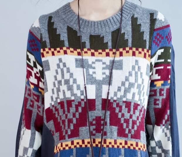 Блузка или свитер?