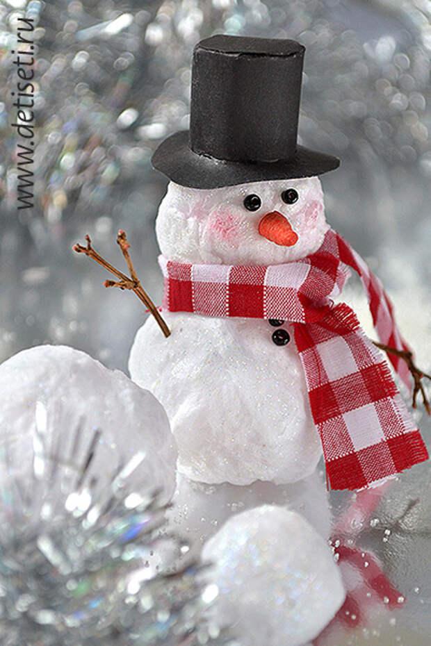 Можете одеть вашего снеговика