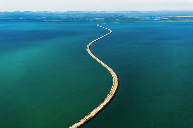 48-километровый мост «El Pedraplen de caibarien»
