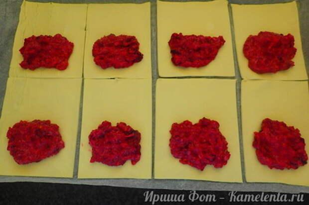 Приготовление рецепта Домашние слойки (эконом вариант) шаг 4