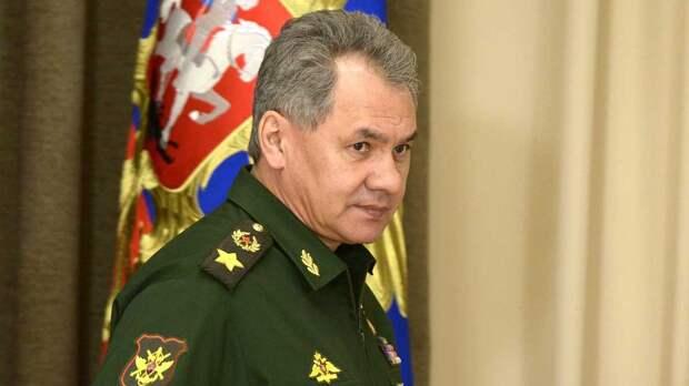 Шойгу рассказал, что российская армия в Крыму не оскорбила украинский флаг