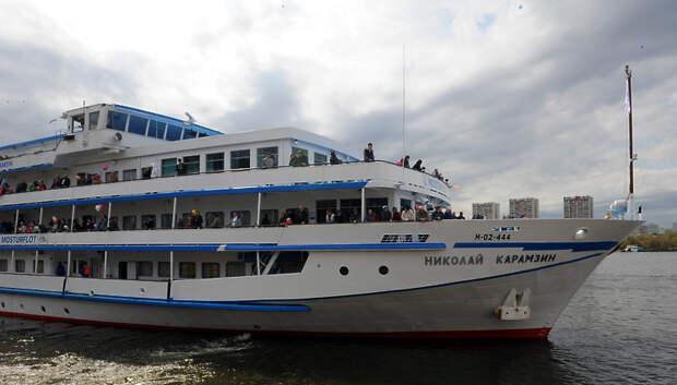 За три недели на водных маршрутах Подмосковья перевезли более 1,2 тыс пассажиров