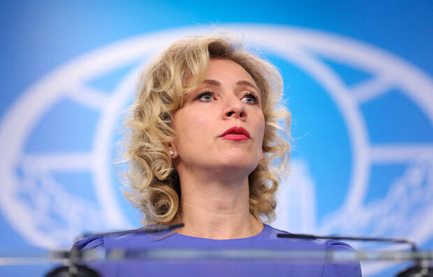 """Захарова назвала публикацию Buzzfeed о связях Трампа с РФ """"цирком атлантов"""""""
