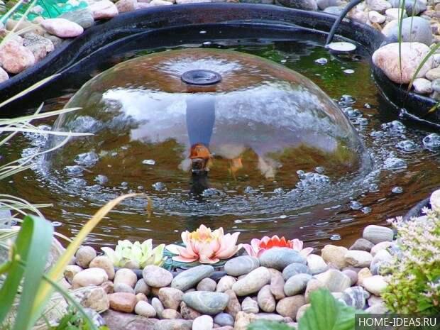 фонтан в виде зонтика