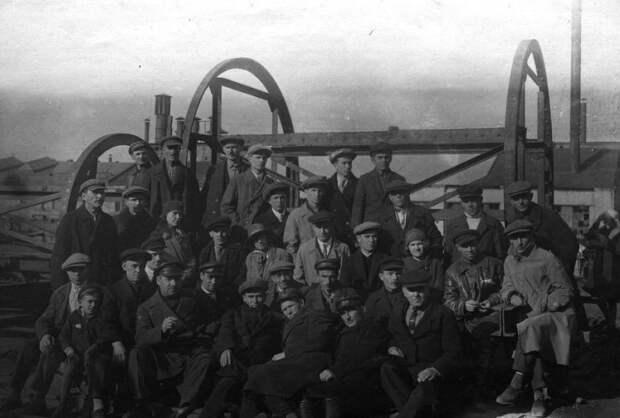 Уникальные фотографии сделанные на территории американской производственной колонии в 1920-х