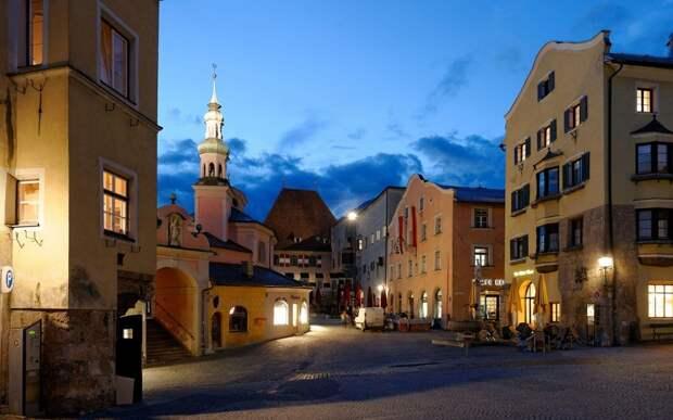 Халль-ин-Тироль, Австрия.