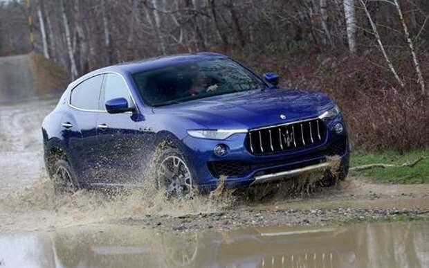 Maserati Levante будет «плавать» вместе с рублем