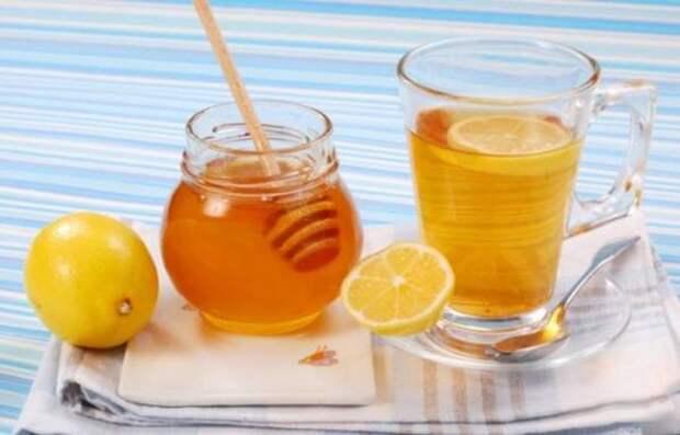 Боль в горле и кашель (рецепт лимона с медом) лимон, польза