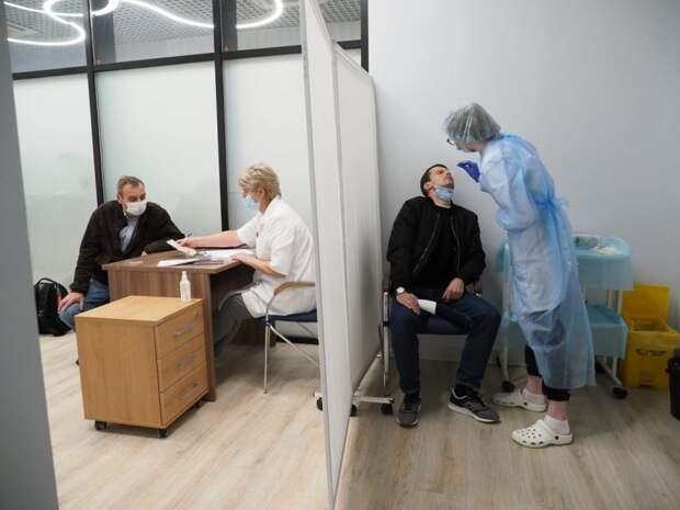 В поликлинике №45 рассказали о процедуре экспресс-тестирования на антиген к COVID-19