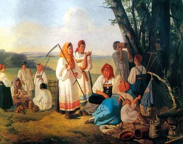 7 самых странных обычаев на Руси