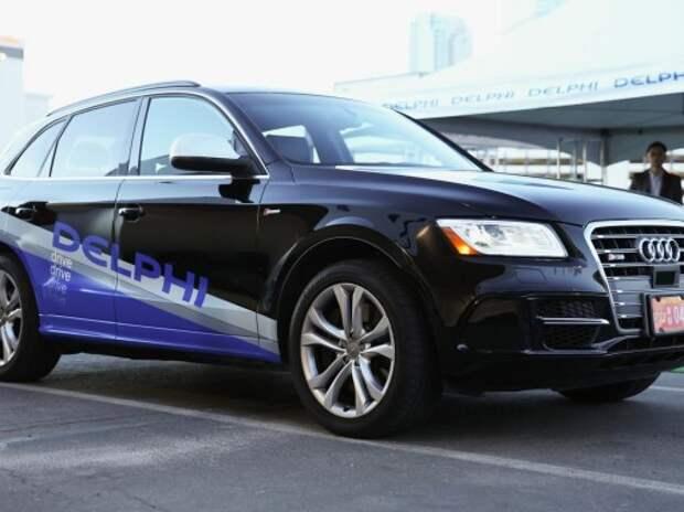 Автономный Audi SQ5 пересечет США на этой неделе