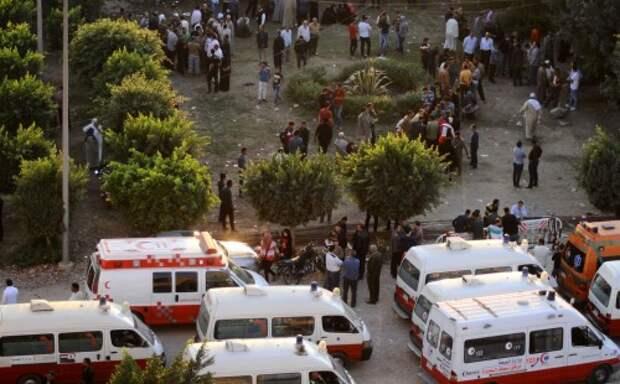Авария автобуса в Египте