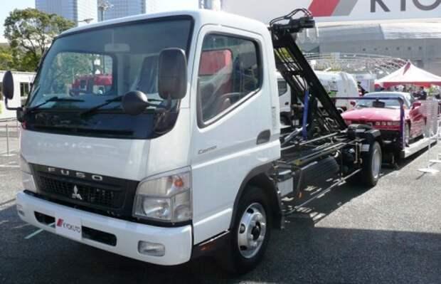 Mitsubishi Fuso приостановила сборку грузовых авто в РФ