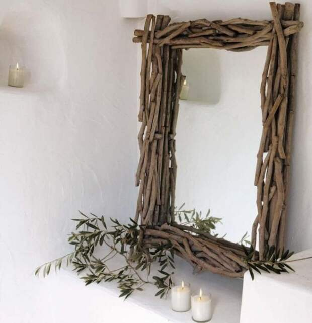 Зеркала в дереве (подборка 15шт.)