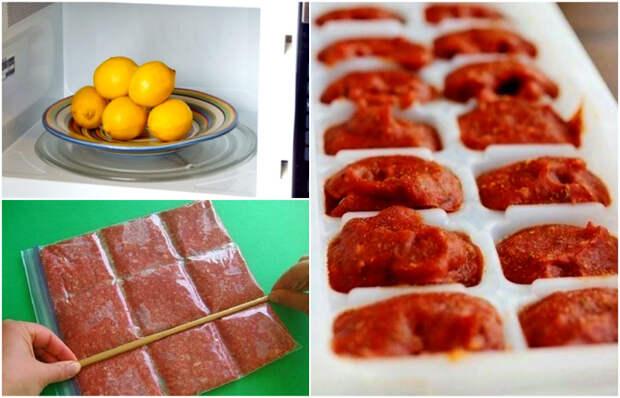 16 бытовых трюков для кухни, которые позволяют готовить вкуснее