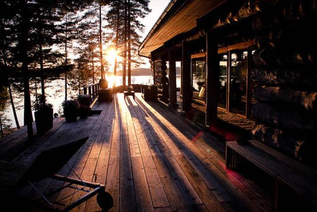 cabin-house-lake-porch-sunrise-Favim.com-404042
