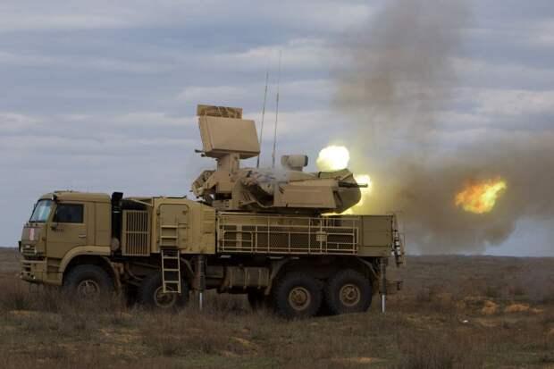 Военные США используют российские Панцири в Ираке от ракет Ирана