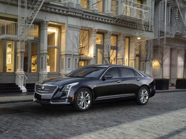 Новый Cadillac CT6 замахнулся на немецкую «премиум-тройку»