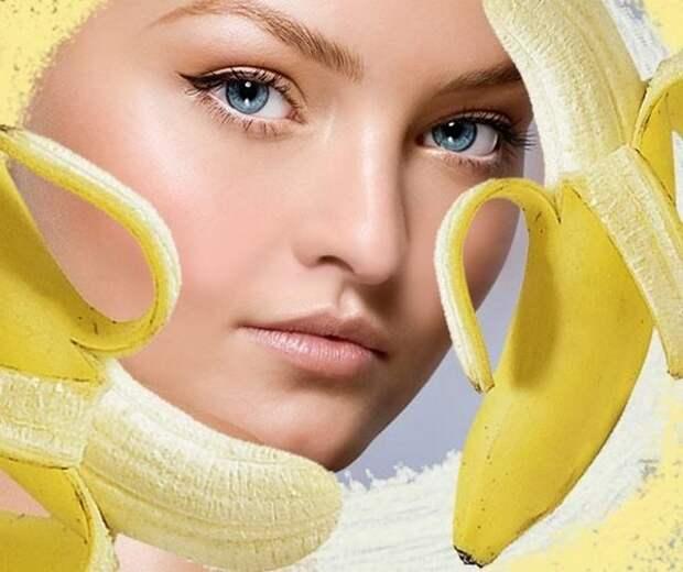 Банановая маска для всех типов кожи. Это настоящее спасение в зимнюю пору!