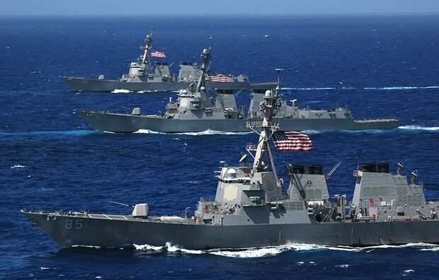 В Совфеде рассказали, что получат США, нарастив военное присутствие в Чёрном море