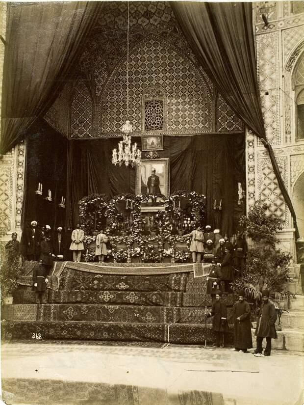 Похороны Наср-эд-Дин-шаха в Таккия Давлат, Тегеран